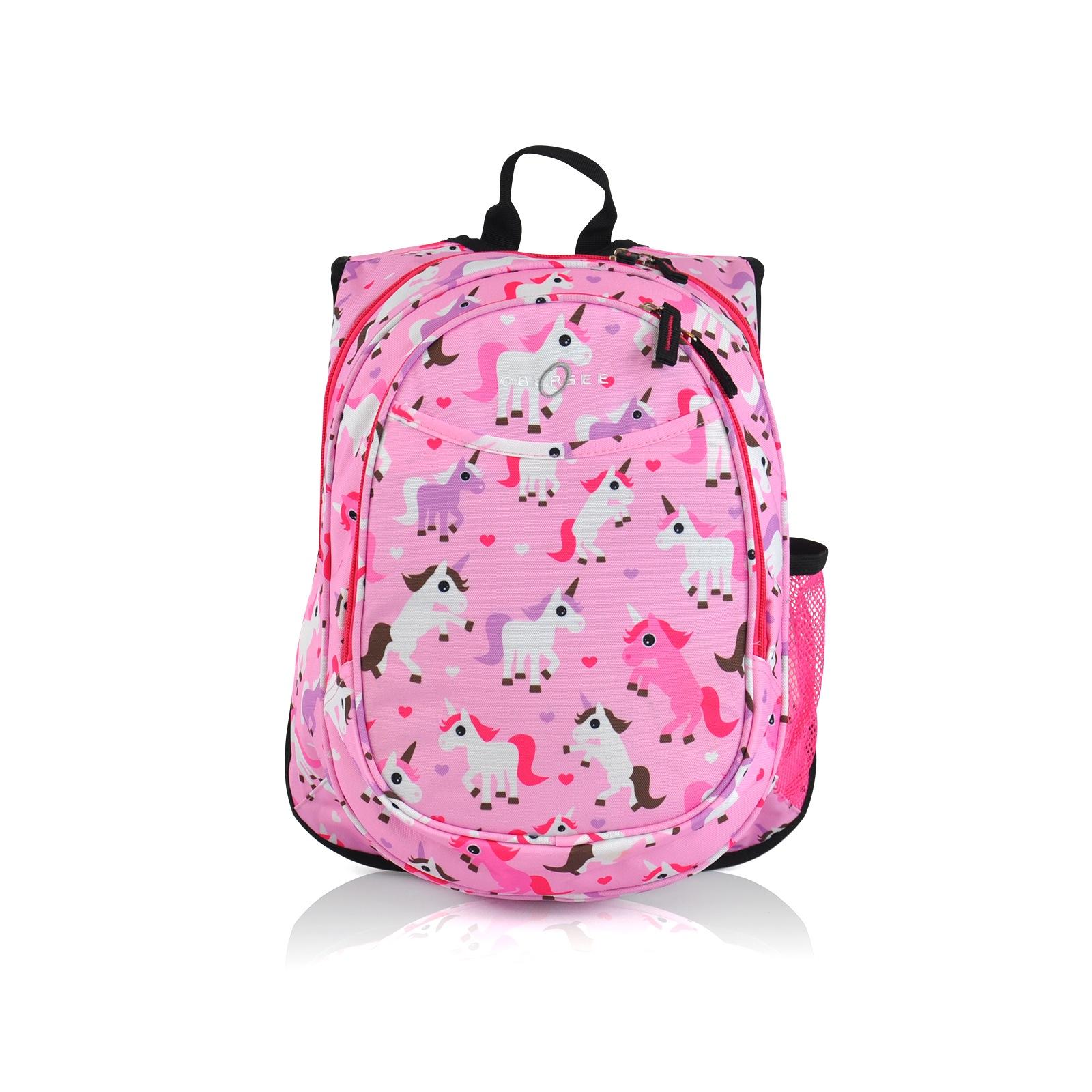 pink travel backpack for kids
