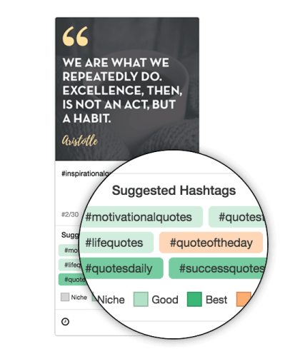 Tailwind's Instagram Hashtag Finder Tool