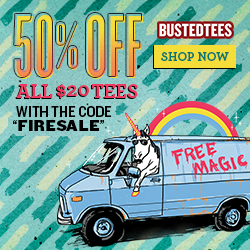 Busted Tees New Release!  12 New Tees for $12!