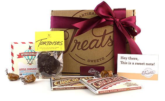 Give the gift of Treatsie artisan sweets!