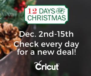 Cricut 12 Days of Christmas