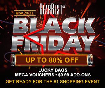 GearBest Preheat Black Friday from Nov.20-23