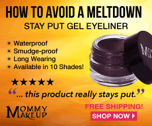 How To Avoid A Meltdown - Mommy Makeup Stay Put Gel Eyeliner