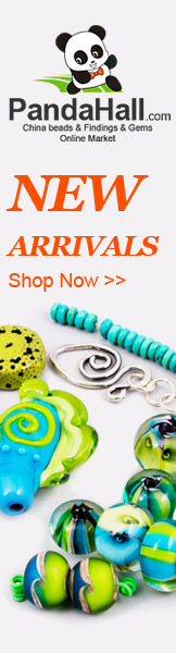 New Arrivals on jewelry beads, jewelry findings, etc. @PandaHall