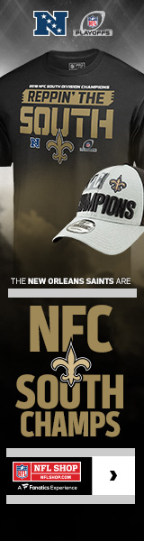 New Orleans Saints 2018 NFC South Champs Gear