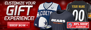 NFLShop.com - Customized NFL Gear