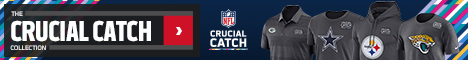 Intercept Cancer with the Crucial Catch Collection at NFLShop.com