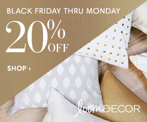 20% Off Custom Window Treatments & Furnishings at Loom Decor
