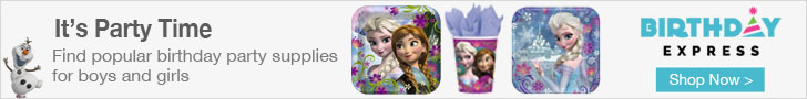 Frozen Party Supplies at Birthday Express