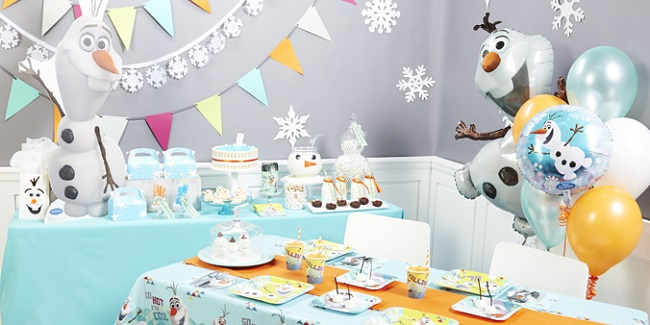 Olaf Frozen Birthday Party Supplies