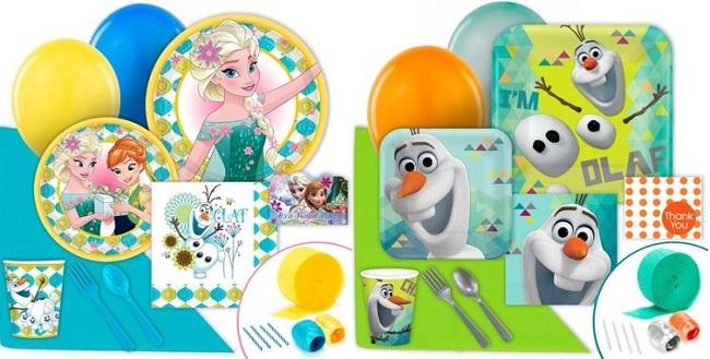frozen birthday party supplies