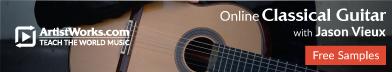 classical guitar jason vieaux artistworks