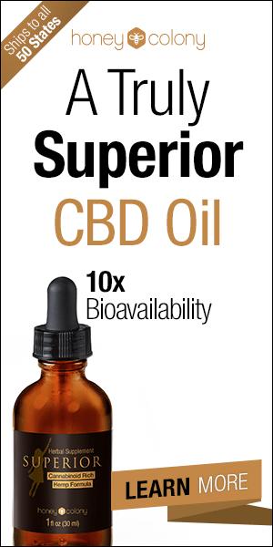 HoneyColony Superior CBD Hemp Oil