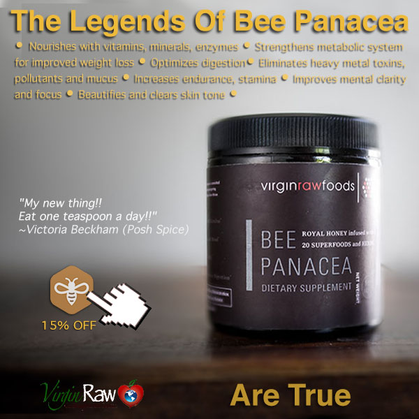 Virgin Raw Foods Bee Panacea (5 oz.)