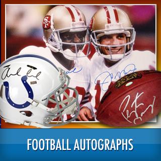 Football Autographed Tees