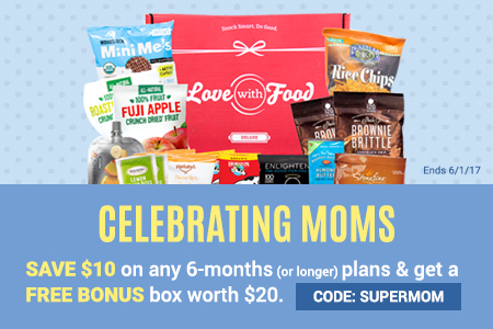 Get the Love With Food Deluxe Box Deal!