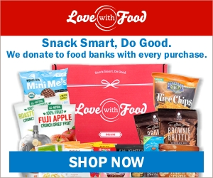 Get 50% off your first Gluten Free Love With Food box, and get a year subscription to Good Housekeeping included!