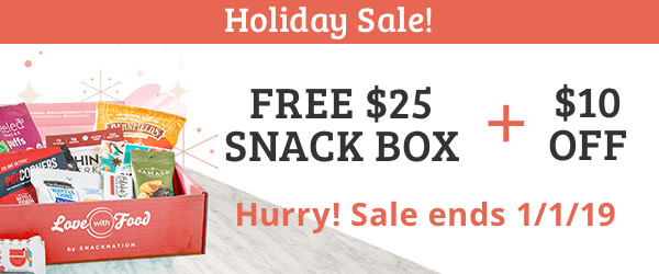 Holiday Sale- $25 Free Box + $10 Off w/ 6 or 12 COUPON CODE: JOLLY10