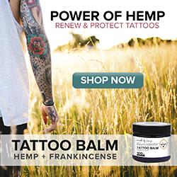 hemp oil tattoo balm