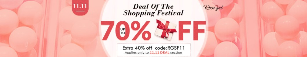 Deal Of The Shopping Festival: Up to 70% OFF