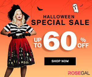 Halloween Sale-Up To 60% Off