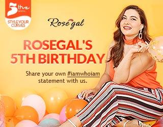 Rosegal 5th Anniversary: Win $500 Coupons