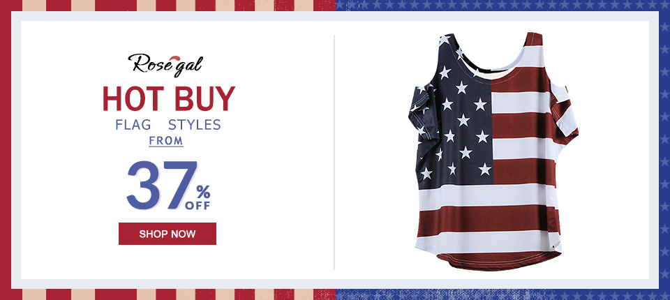 The Stars and Stripes: Hot Sale Flag Styles. From 37% OFF and FREE SHIPPING