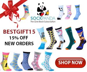 BESTGIFT15 Sock Panda