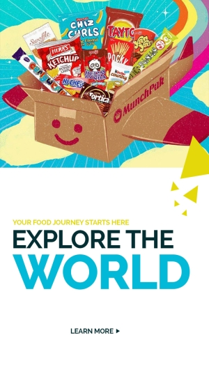 Explore the world at MunchPak.com