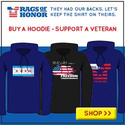 Buy a hoodie, support a veteran.