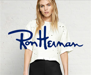 ron herman fashion banner