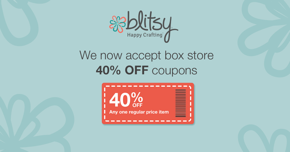 Blitsy Now Accepts Michaels, Joanns, Hobby Lobby and AC Moore Coupons