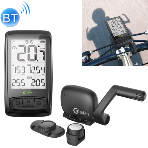 Speedometer,Bluetooth Stopwach Outdoor & Sports Bicycle Accessories Speedometer