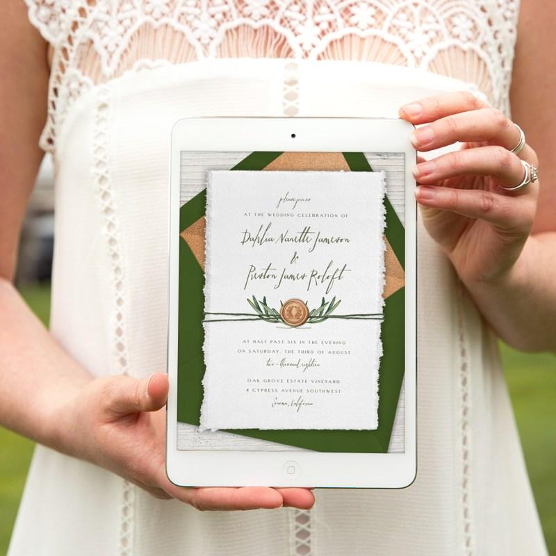Paperless Ecofriendly Online Invitations from Greenvelope.com