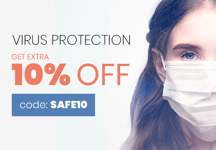 3 layers Face Mask Virus protection
