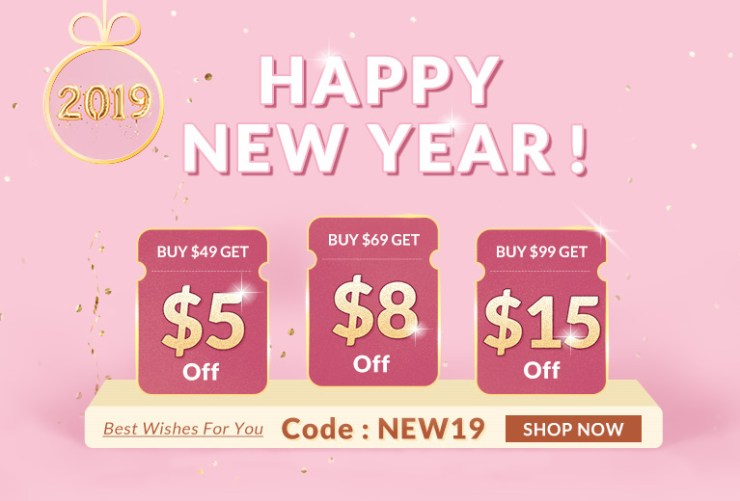Dresslily Happy New Year Sale