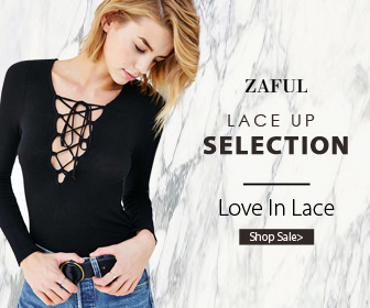 Are you a lace lover? Welcome to Zaful to get all kinds of lace up selection, you can enjoy up to 70% off for lace items. You will regret to miss them.