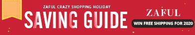 Zaful Crazy Shopping Holiday: Saving Guide