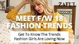Meet F/W 18 FASHION TRENDS at ZAFUL.com!
