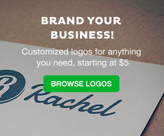 Brand your business! Customized logos for anything you need. starts at $5.