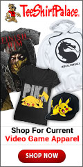 Shop for Video Game Apparel at TeeShirtPalace.com
