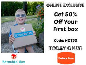 Click Here for 50% Off Your First Box