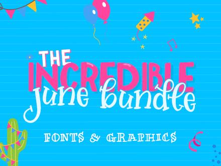 SALE!! 96% OFF Get The Incredible June Bundle!