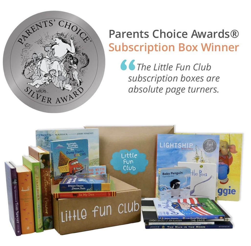 Little Fun Club - Book Subscription for kids