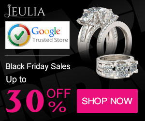 Jeulia Black Friday Sales, Up to 30% Off