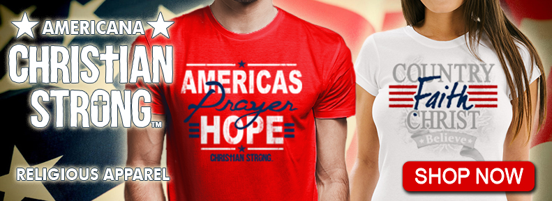 Shop Now for our selection of Christian Strong Patriotic Tee Shirts