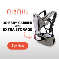 Hipster Plus - 3d Baby Carrier with Extra Storage