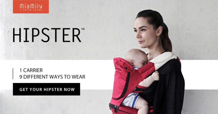 Hipster Baby Carrier