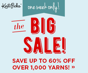 The Big Sale at knitpicks.com