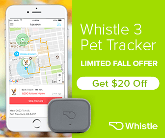 Save $20 on Whistle 3